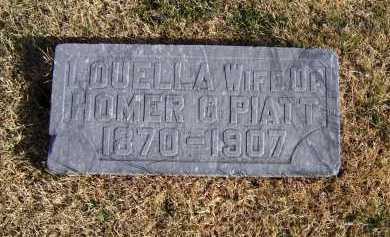 PIATT, LOUELLA - Adams County, Ohio | LOUELLA PIATT - Ohio Gravestone Photos