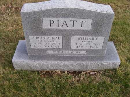 PIATT, VIRGINIA MAY - Adams County, Ohio | VIRGINIA MAY PIATT - Ohio Gravestone Photos