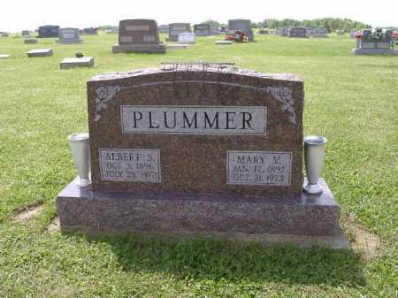 PLUMMER, ALBERT STEWART - Adams County, Ohio | ALBERT STEWART PLUMMER - Ohio Gravestone Photos