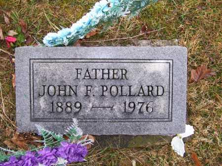 POLLARD, JOHN F. - Adams County, Ohio | JOHN F. POLLARD - Ohio Gravestone Photos
