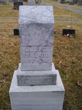 POLLARD, JULIA D. - Adams County, Ohio | JULIA D. POLLARD - Ohio Gravestone Photos