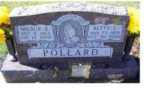 POLLARD, BETTY L. - Adams County, Ohio | BETTY L. POLLARD - Ohio Gravestone Photos