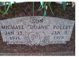 POLLEY, MICHAEL DUANE - Adams County, Ohio | MICHAEL DUANE POLLEY - Ohio Gravestone Photos