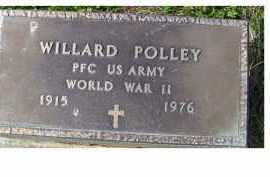 POLLEY, WILLARD - Adams County, Ohio | WILLARD POLLEY - Ohio Gravestone Photos