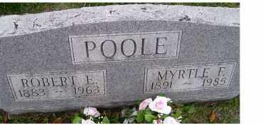 POOLE, MYRTLE F. - Adams County, Ohio | MYRTLE F. POOLE - Ohio Gravestone Photos