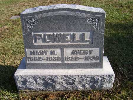 POWELL, MARY M. - Adams County, Ohio | MARY M. POWELL - Ohio Gravestone Photos