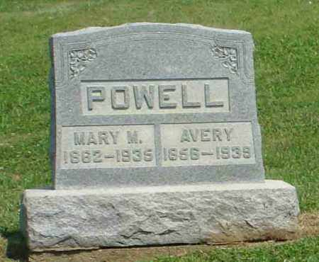 POWELL, MARY M - Adams County, Ohio | MARY M POWELL - Ohio Gravestone Photos