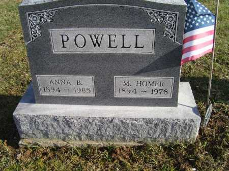POWELL, M. HOMER - Adams County, Ohio | M. HOMER POWELL - Ohio Gravestone Photos