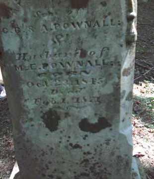 POWNALL, THOMAS J. - Adams County, Ohio | THOMAS J. POWNALL - Ohio Gravestone Photos