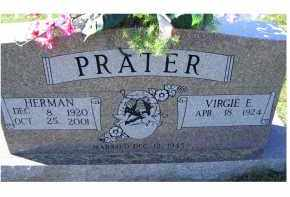 PRATER, HERMAN - Adams County, Ohio | HERMAN PRATER - Ohio Gravestone Photos