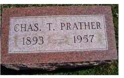 PRATHER, CHAS. T. - Adams County, Ohio | CHAS. T. PRATHER - Ohio Gravestone Photos
