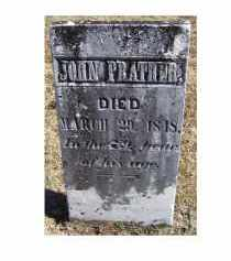 PRATHER, JOHN - Adams County, Ohio | JOHN PRATHER - Ohio Gravestone Photos