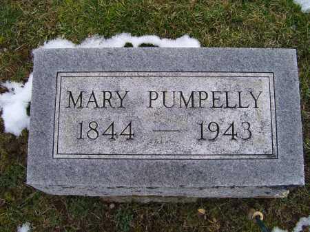PUMPELLY, MARY - Adams County, Ohio | MARY PUMPELLY - Ohio Gravestone Photos