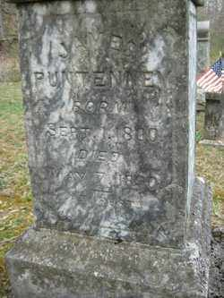 PUNTENNEY, JAMES - Adams County, Ohio | JAMES PUNTENNEY - Ohio Gravestone Photos