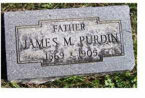 PURDIN, JAMES M. - Adams County, Ohio | JAMES M. PURDIN - Ohio Gravestone Photos