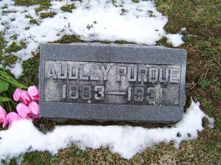 PURDUE, AUDLEY - Adams County, Ohio | AUDLEY PURDUE - Ohio Gravestone Photos