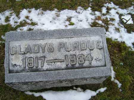 PURDUE, GLADYS - Adams County, Ohio | GLADYS PURDUE - Ohio Gravestone Photos