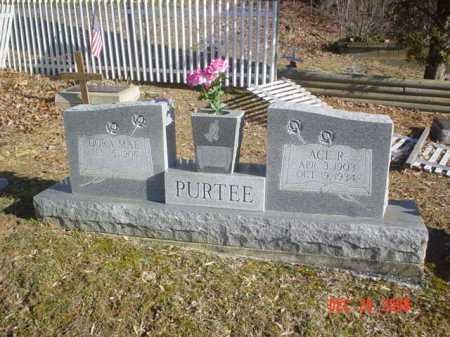 PURTEE, ACE R. - Adams County, Ohio | ACE R. PURTEE - Ohio Gravestone Photos