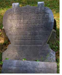 PURTEE, AMANDA - Adams County, Ohio | AMANDA PURTEE - Ohio Gravestone Photos