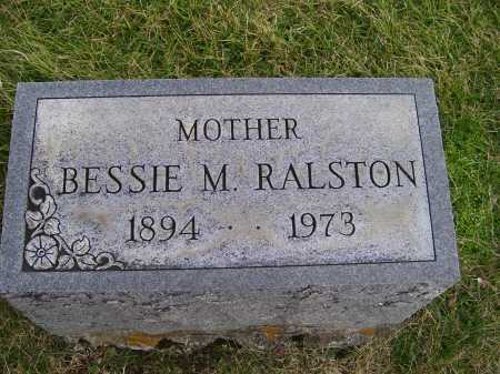 RALSTON, BESSIE M. - Adams County, Ohio | BESSIE M. RALSTON - Ohio Gravestone Photos
