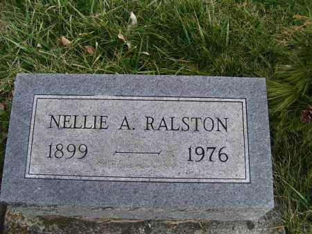 RALSTON, NELLIE A. - Adams County, Ohio | NELLIE A. RALSTON - Ohio Gravestone Photos
