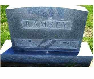 RAMSEY, GEORGE S. - Adams County, Ohio | GEORGE S. RAMSEY - Ohio Gravestone Photos