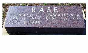 RASE, DONALD C - Adams County, Ohio | DONALD C RASE - Ohio Gravestone Photos