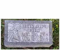 REED, BETTY IRENE - Adams County, Ohio | BETTY IRENE REED - Ohio Gravestone Photos