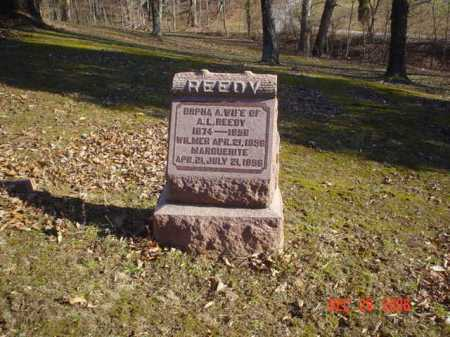 REEDY, ORPHA - Adams County, Ohio | ORPHA REEDY - Ohio Gravestone Photos