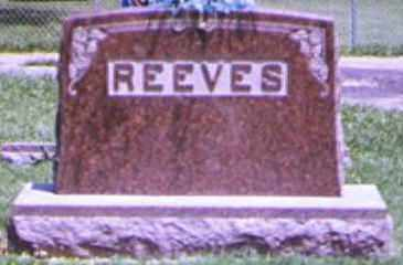 REEVES, BERT - Adams County, Ohio | BERT REEVES - Ohio Gravestone Photos