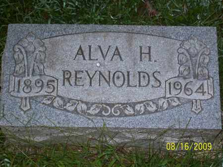 REYNOLDS, ALVA H - Adams County, Ohio | ALVA H REYNOLDS - Ohio Gravestone Photos