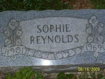 REYNOLDS, SOPHIE - Adams County, Ohio   SOPHIE REYNOLDS - Ohio Gravestone Photos