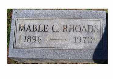 RHOADS, MABLE C. - Adams County, Ohio | MABLE C. RHOADS - Ohio Gravestone Photos
