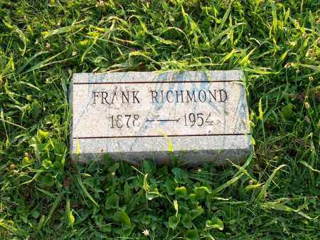 RICHMOND, FRANK - Adams County, Ohio | FRANK RICHMOND - Ohio Gravestone Photos