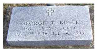 RIFFLE, GEORGE T. - Adams County, Ohio | GEORGE T. RIFFLE - Ohio Gravestone Photos