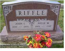 RIFFLE, NELLE M. - Adams County, Ohio | NELLE M. RIFFLE - Ohio Gravestone Photos