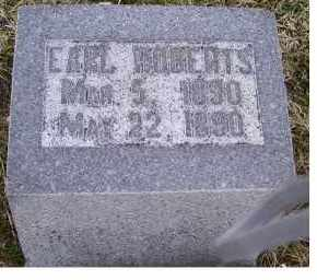 ROBERTS, EARL - Adams County, Ohio | EARL ROBERTS - Ohio Gravestone Photos