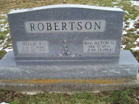 ROBERTSON, NELLIE F. - Adams County, Ohio | NELLIE F. ROBERTSON - Ohio Gravestone Photos