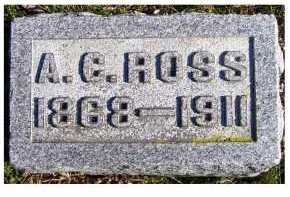 ROSS, A. C. - Adams County, Ohio | A. C. ROSS - Ohio Gravestone Photos