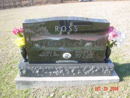 ROSS, PAULINE E. - Adams County, Ohio | PAULINE E. ROSS - Ohio Gravestone Photos