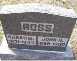ROSS, JOHN H. - Adams County, Ohio | JOHN H. ROSS - Ohio Gravestone Photos