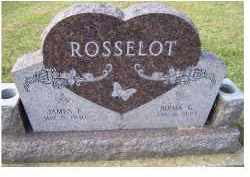 ROSSELOT, JAMES F. - Adams County, Ohio | JAMES F. ROSSELOT - Ohio Gravestone Photos