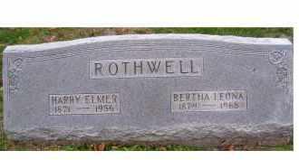 ROTHWELL, HARRY ELMER - Adams County, Ohio | HARRY ELMER ROTHWELL - Ohio Gravestone Photos