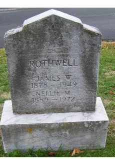 ROTHWELL, NELLIE M. - Adams County, Ohio | NELLIE M. ROTHWELL - Ohio Gravestone Photos