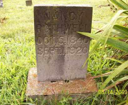 ROTHWELL, NANCY - Adams County, Ohio | NANCY ROTHWELL - Ohio Gravestone Photos