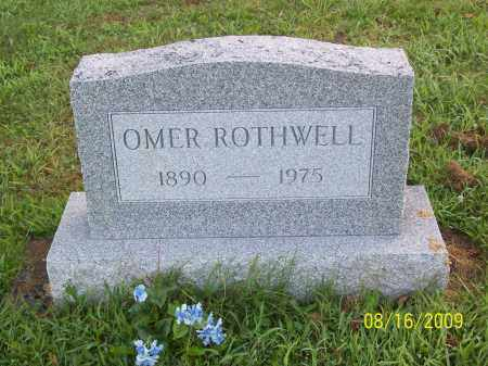 ROTHWELL, OMER - Adams County, Ohio | OMER ROTHWELL - Ohio Gravestone Photos
