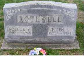 ROTHWELL, ELLEN B. - Adams County, Ohio | ELLEN B. ROTHWELL - Ohio Gravestone Photos