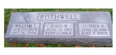 ROTHWELL, JOHN W. - Adams County, Ohio | JOHN W. ROTHWELL - Ohio Gravestone Photos
