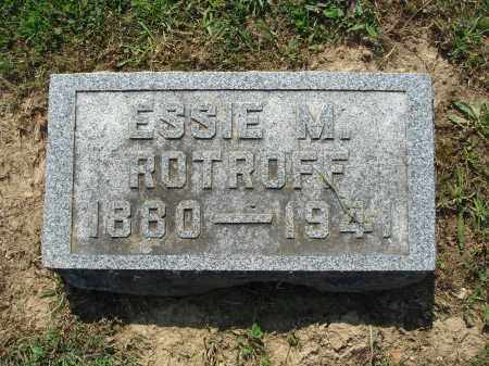ROTROFF, ESSIE M. - Adams County, Ohio | ESSIE M. ROTROFF - Ohio Gravestone Photos