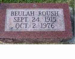 ROUSH, BEULAH - Adams County, Ohio | BEULAH ROUSH - Ohio Gravestone Photos